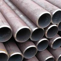 Cheap Welded Carbon Steel Pipes with Black Paint Protection, Meets API 5L Standard  for sale