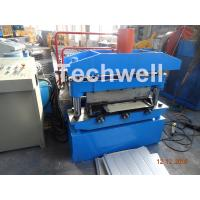 Buy cheap Iron Sheet Metal Roof Cold Roll Forming Machine With Manual Uncoiler Machine from wholesalers