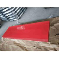 Cheap Red Corrugated Sheet Metal / High Hardness Corrugated Metal Roofing Sheets for sale