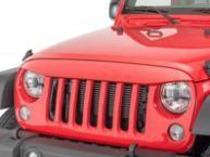 Cheap ABS Plastic Jeep Wrangler Eagle Eye Grill Custom Size Maintenance Free for sale