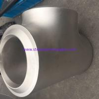 China Hot Dipped Galvanizing Steel Pipe Fittings Equal Tee High Durability Sch40 Sch80 on sale