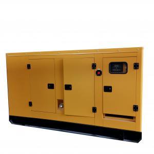 China Cummins Engine Powered 50Hz / 60Hz 100KVA Silent Diesel Generator Standby Generator on sale