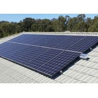 Cheap Stable Multicrystalline Silicon Solar Panels 900 Mm Length Flame Resistant for sale