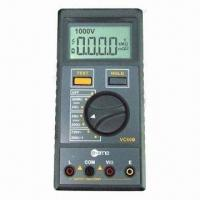 Cheap Insulation Resistance Tester with 1,000/2,500V High Voltage Test for sale