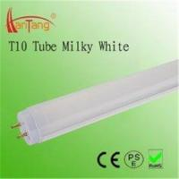 Cheap 18W Milky T10 LED Fluorescent Tube Replacement 2800 - 3300K Φ 30mm For Colleges for sale
