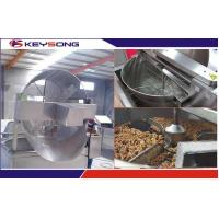 Quality 380v Chips Nuts Fryer Food Making Machine Full Automatic Food Grade Stainless Steel wholesale