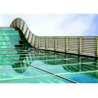 Cheap BS / ASTM Approve 12mm Toughened Safety Glass For Subway Station for sale