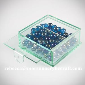 China Customized clear plexiglass storage box hot selling acrylic candy  display box on sale