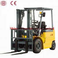 Cheap Powered 1.5 Ton Electric Forklift Truck With Seated Operator CPD15 for sale
