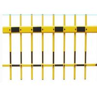 Cheap Yellow Color Fence Barrier Gate Arm , 100 x 45mm Aluminum Gate Arms for sale