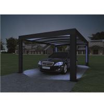 Cheap 52X2 , 4 M -Genua Induction Garage Led Auto-Sensing Solar Garage Parking Lot for sale