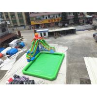 Cheap Outdoor Inflatable Water Park For Kids / Extreme Fun Water Theme Park for sale