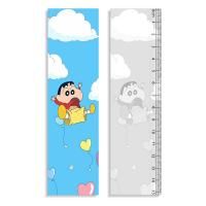 Cheap 0.9mm PET + 157g Paper 3D Lenticular Ruler Customized Shape Anime Pattern for sale