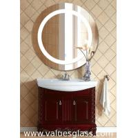China Round Shaped LED Bathroom Mirrors Fashion Appearance With Anti Corrosion Function on sale