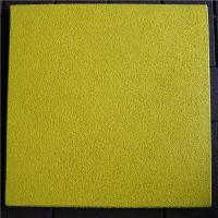 Cheap 500*500*25mm Yellow EPDM  Rubber Tiles for sale