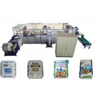 Quality Block Bottom Valve Bag Making Machine Adopt Hot Air Welding Technology wholesale