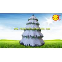 Cheap Advertising Holiday Inflatables Christmas Tree , Festival  Spruce Tree Decorations for sale