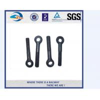Cheap Grade 10.9 / 12.9 HS26 / HS32 Railway Bolt / Fish Bolt With Hook for sale