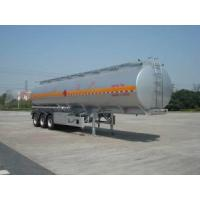 Cheap Aluminum Alloy (Fuel) Tank Trailer for Light Diesel Oil Delivery for sale