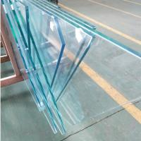 Quality Custom 12mm starfire Ultra Clear Tempered Safety glass price m2 for Commercial wholesale