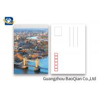 Cheap Beautiful Landscape 3d Lenticular Postcard  PET / PP Material Printing Images for sale