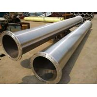 Buy cheap Stainless steel water well filter tube / Johnson screen from wholesalers