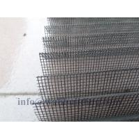 Cheap Standard Plain Weave Plisse Screen Retractable Insect Screens 120g/M2 for sale