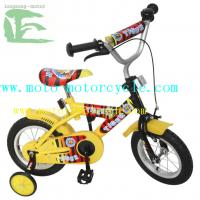 Cheap Yellow / Red Children Bicycle With Steel Fork , Boys 20 Inch Mountain Bike for sale