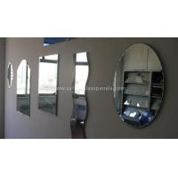 Cheap Aluminum 8mm Colored Silver Backed Mirror Glass Decoration and Furniture for sale