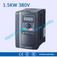Buy cheap 1.5kw 380V CNC Variable-Frequency Drive motor AC drive AC-DC-AC 50Hz/60Hz frequency converter transducer Three Phase VFD from wholesalers