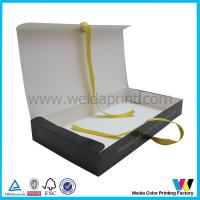 Buy cheap Hair Extension Boxes Paper Packaging Boxes With Ribbon Eco - Friendly from Wholesalers