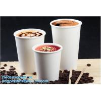 China White paper cup Custom printed disposable hot soup bowls, kraft paper soup cup,Custom logo printed disposable kraft pape on sale