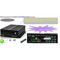 Cheap H.264 8 channel HDD mdvr recorder 3g wifi gps for sale