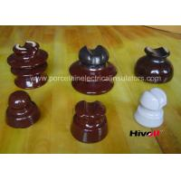 Cheap 11kV And Below Porcelain Pin Type Insulators With Porcelain Thread wholesale