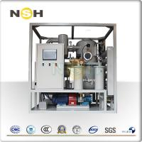 China Vacuum Transformer Oil Filtration Plant Dehydration Absorption Of Dissovled Gases on sale