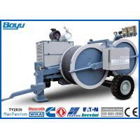 Buy cheap 2 x 40kN Hydraulic Electric Tensioner Two Rope Conductors Max 8 Ton 77kw from wholesalers