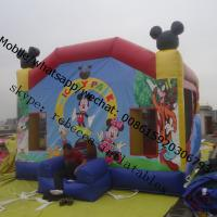 Cheap castle inflatable inflatable castle mickey mouse inflable castle for sale