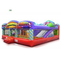 Cheap Fun Fair Park Play Inflatable Bounce House Combo 1 - 3 Years Warranty 120 KG Weight for sale