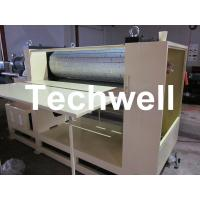 Cheap 3.8 Ton MDF / Wood Embossing Machine with Up-Down Roll Heating Device for sale