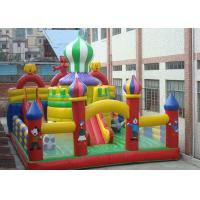 Cheap 0.55mm PVC Tarpaulin Inflatable Bouncy Castle House, Inflatable Fun Park for sale