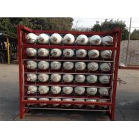 Buy cheap Custom 200 Bar / 250 Bar Ground CNG Storage Tanks / Cascade Tank For Gas Filling from wholesalers