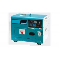 Cheap Single phase electric portable diesel generator set 220v  5kva For Home wholesale