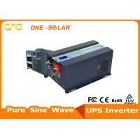 Cheap 6000W Pure Sine Wave Low Frequency Inverter 24V 48V For UPS / Solar System wholesale