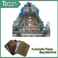 Cheap Full Automatic Paper Bag Machinery ZT9804 TUBER + HD4913 BOTTOMER with 60,000 Bags Capacity wholesale