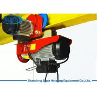 Buy cheap PA Electric Cable Hoist 110V , Electric Crane Hoist Wireless Remote Control from wholesalers