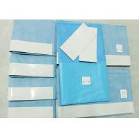 Cheap Hygeinic Disposable Surgical Packs , General Delivery Sterile Surgical Drapes for sale