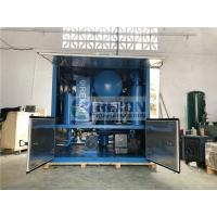 Cheap Weather Proof Type Three-stage Filter Dielectric Oil Purifier Machine 9000Liters/Hour for sale