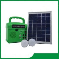 Buy cheap Home lighting solar system with radio, led lamp 2pcs, cell phone charger, solar from wholesalers