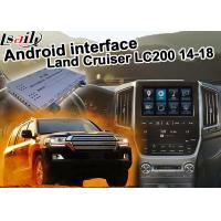 China Toyota Land Cruiser LC200 Android Navigation Video Interface Upgrade carplay android auto on sale