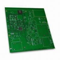Cheap Double-sided PCB with HASL Lead Free Finish, 2.3mm Board and 2oz Copper Thickness, RoHS Compliant for sale